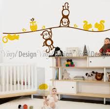 Animal Wall Decals For Nursery Nursery Animals Wall Decal Wall Decals