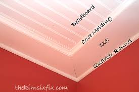How To Hang Drywall On Ceiling By Yourself by How To Install A Beadboard Paneled Ceiling The Kim Six Fix