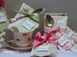 bridal tea party favors inkingpink bridal tea shower favors