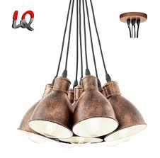 Wohnzimmer Lampe Ebay Eglo Pendelleuchte 7 Flammig Priddy 1 Hängelampen Deckenlampen