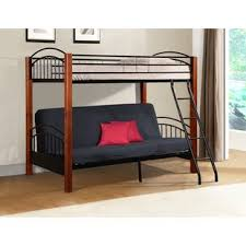 Wood Futon Bunk Bed Futon Bunk Bed Shop Bunk Beds With Futons