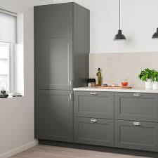 ikea navy blue kitchen cabinets axstad door gray 21x20