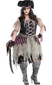 Halloween Costumes Womens Haunted Pirate Wench Costume Size Halloween Ideas