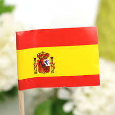 aliexpress com buy 50pcs mini spain paper flag picks party food