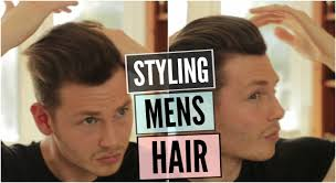 Gatsby Hairstyle Men by Mens Hairstyle 2016 How To Style Curly Wavy Hair Tutorial Youtube
