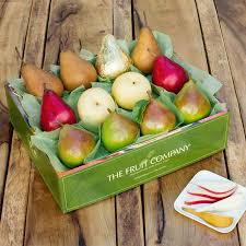 fruit gift boxes pear medley gift box the fruit company