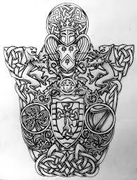celtic coat of arms by design on deviantart celtic