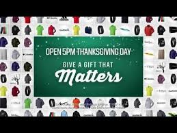 Is Sporting Goods Open On Thanksgiving Tv Commercial Spot S Sporting Goods Black Friday Sale
