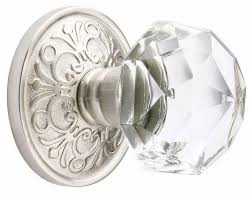 emtek crystal cabinet knobs emtek providence crystal cabinet knob georgetown schlage door handle