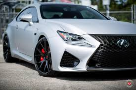 lexus wrapped vossen wheels lexus rcf vossen forgedprecision series vps 306