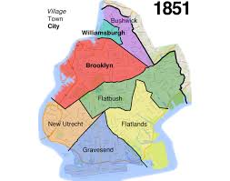 Map Of Brooklyn Ny Brooklyn U0027s Evolution From Small Town To Big City To Borough
