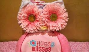 owl diaper cake for a gift to newborn baby party xyz