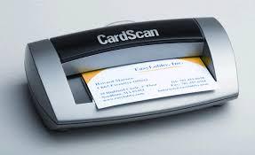 Business Card Reader Scanner Cardscan 800 License Business Card Scanner
