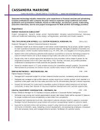 Market Research Resume Samples by Marketing Marketing Project Manager Resume