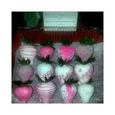 White Pink Chocolate Covered Strawberries 35 Best Chocolate Covered Strawberries Images On Pinterest