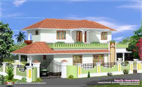 Different House Designs Wonderful Simple House Kerala Images In To Design Ideas