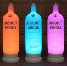 Led Light Bar Color Changing by Absolut Vanilla Vodka Color Changing Led Remote Controlled Led