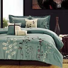 amazon com chic home vines 8 piece comforter bedding set sage