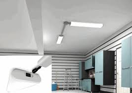 led garage lighting system two 48 long linkable t8 garage lighting diy projects pinterest