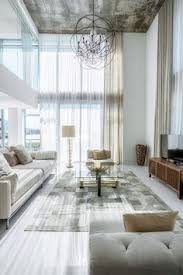 Curtains High Ceiling Decorating See More Of Ash Nyc S Highline Duplex On 1stdibs Interiors