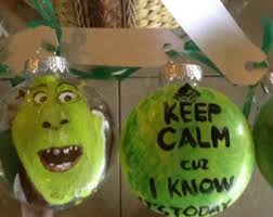 shrek shrek the musical ornaments costume balls