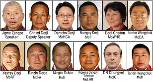 Portfolio Of Cabinet Ministers Cabinet Ministers Announced U2013 Bhutan News Service