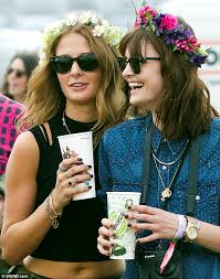festival flower headbands the 8 groups of you will see at every festival mad world