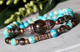 bracelet gemstone images Artisan handcrafted beaded bracelets bluestoneriver JPG