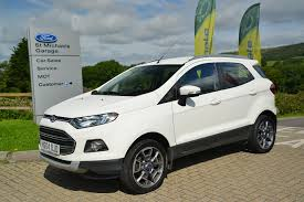 used ford ecosport white for sale motors co uk