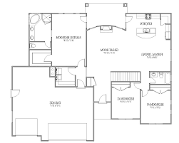 home design house plans two suites one story high