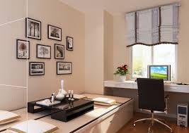 japanese style study room interior design rendering interior design
