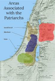 Map Of Canaan History In The Bible Podcast The Patriarchs In Canaan