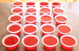 cómo hacer jello shots receta de alcohol y gelatina