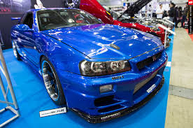 nissan skyline fast and furious 7 tokyo auto salon 2016 top secret v spec ii skyline gt r