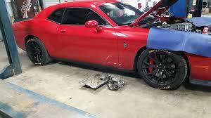 hellcat challenger challenger hellcat owner installs hellcat branded tires everybody