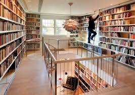 home interior books interior outstanding terraced level home library design with iron