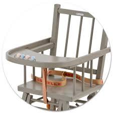 chaise haute b b en bois chaise haute transformable combelle file dans ta chambre