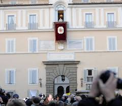 pope spends first night of freedom in front of tv vatican reveals