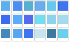 blue swatches blue swatches google search bc mood pinterest