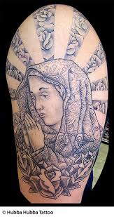 christian tattoos jesus rosary praying