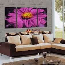 3 panel home decor canvas wall art painting from flower digital printing picture for modern living room decor wall painting