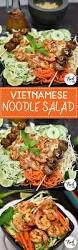 vietnamese cold noodle salad with shrimp the fork bite