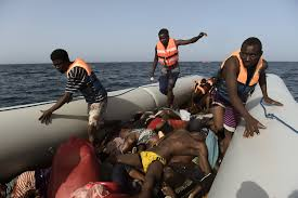 Google Maps Dead Body Stepping Over The Dead On A Migrant Boat The New York Times