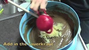 how to make a chocolate sauerkraut cake youtube
