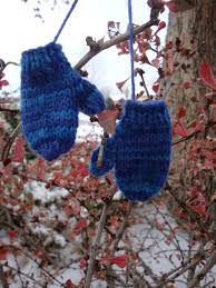 knitted mitten ornament pattern search knitting