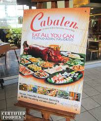 Eat All You Can Buffet by Cabalen Eat All You Can Buffet At Trinoma Certified Foodies