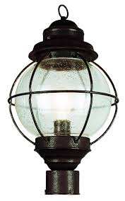Outdoor L Post Lighting Fixtures Home Outdoor Lighting Post Mounted Fixtures Trans Globe