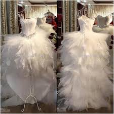 feather wedding dress discount luxury feather wedding dresses with waistband a