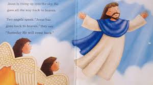 children u0027s daily bible story jesus goes back to heaven toddlers