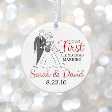 Personalized Wedding Ornament First Christmas Gifts U2013 Page 2 U2013 Personalized Gift Market